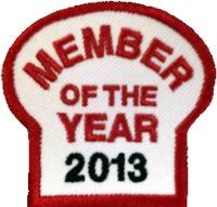 Gear Grinder of the Year Patch