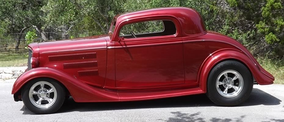 Mark Pack - 1934 Chevy Coupe