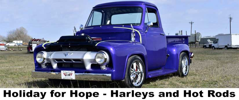 Holiday for Hope - Harleys and Hot Rods