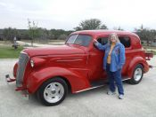 Hazel Scholwinski – 1937 Chevrolet 4 Door Sedan